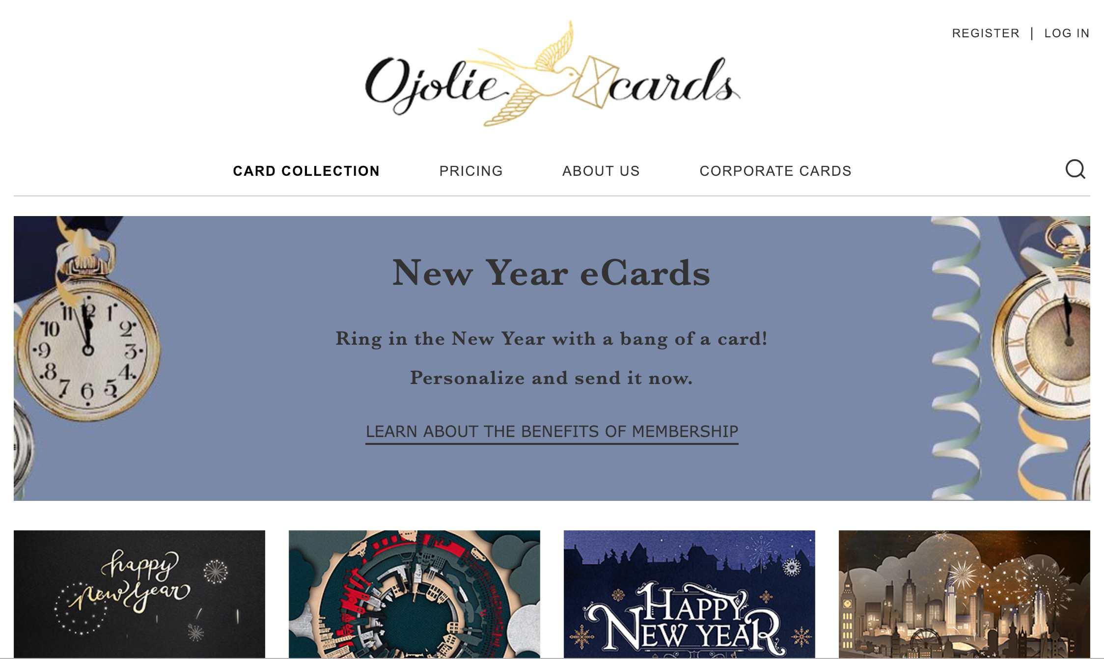 Ojolie website