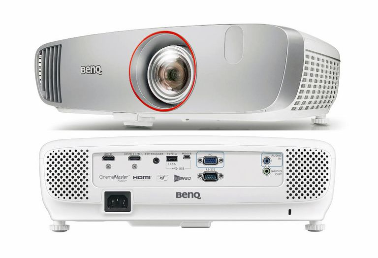 BenQ HT2150ST Short Throw DLP Projector - Front/Rear Views