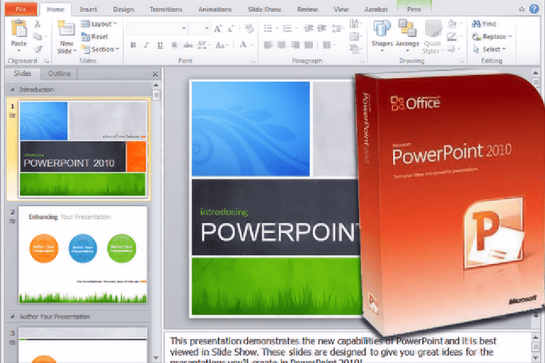 microsoft powerpoint 2010 parts and functions pdf