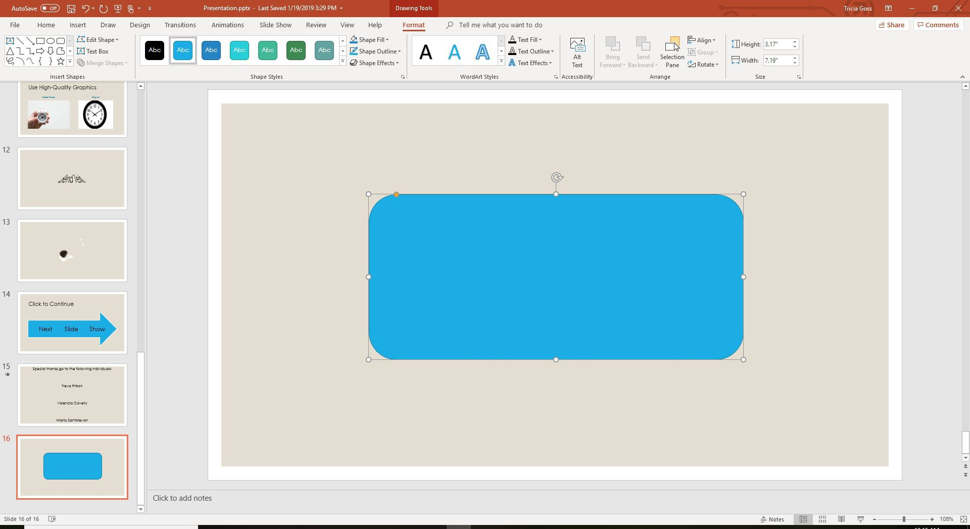 Place a Picture Inside a PowerPoint Shape