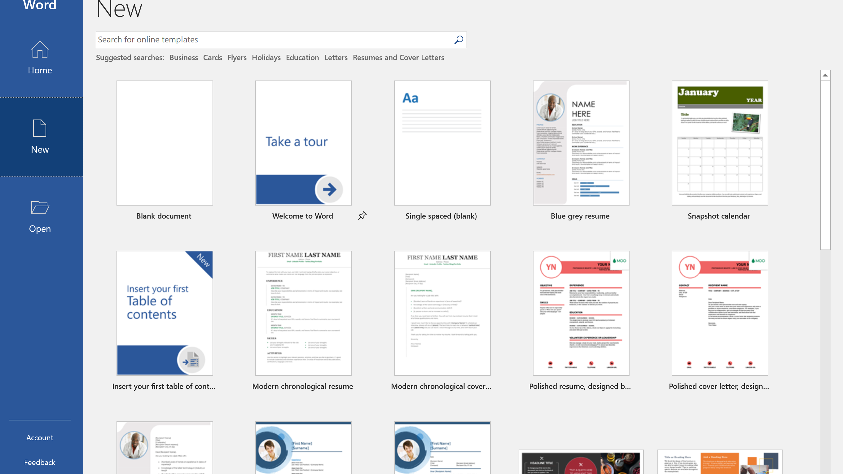 How to Find Microsoft Word Templates on Office Online For What Is A Template In Word