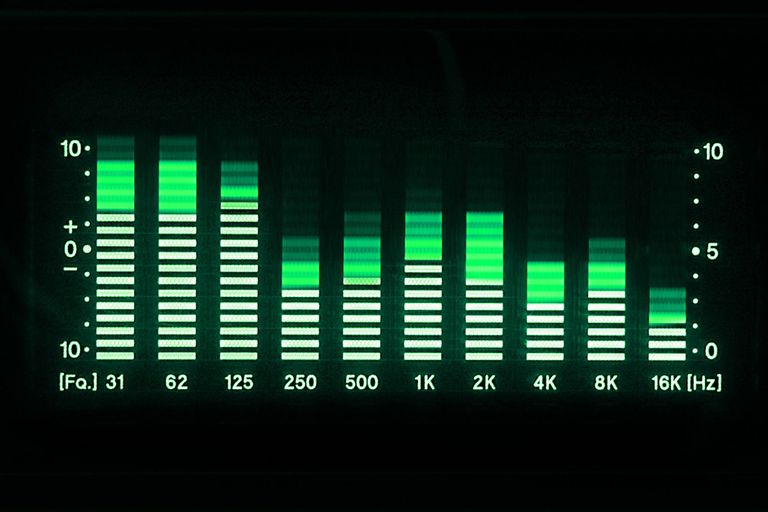 How to Adjust Frequencies on a Stereo Audio Equalizer