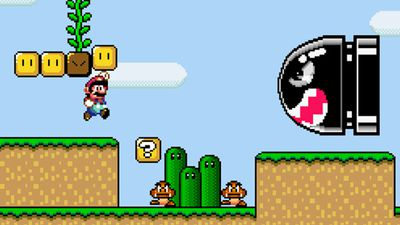 Screenshot from Super Mario World