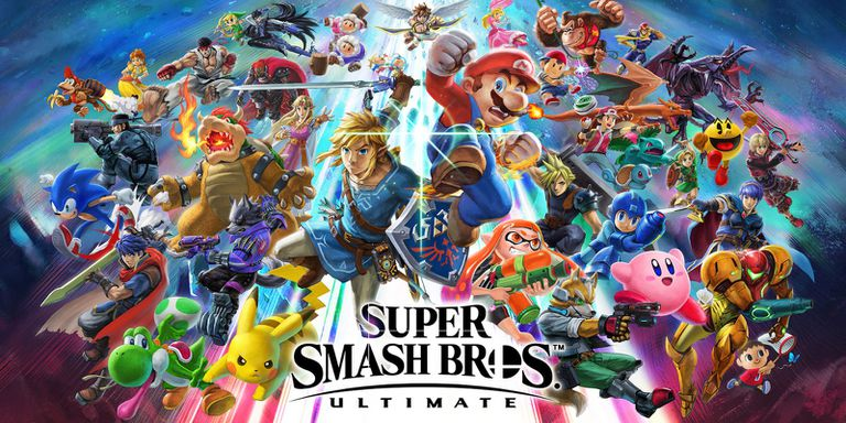 All characters in Super Smash Bros. Ultimate for Nintendo Switch