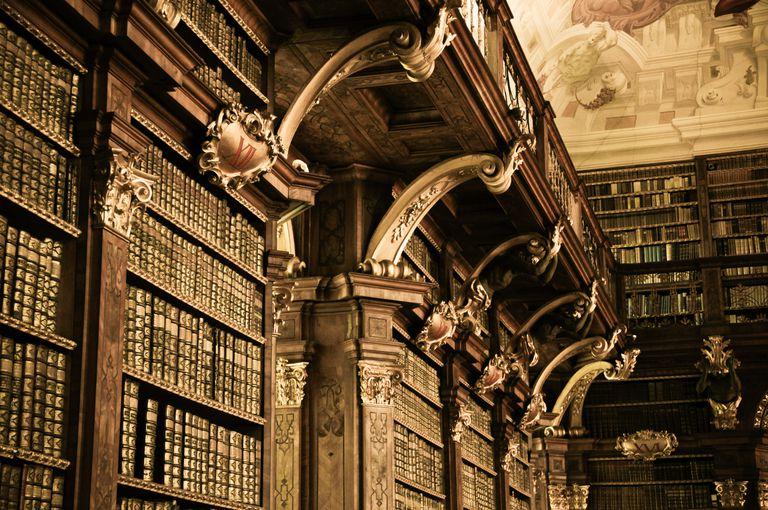 Melk Monastery - Library