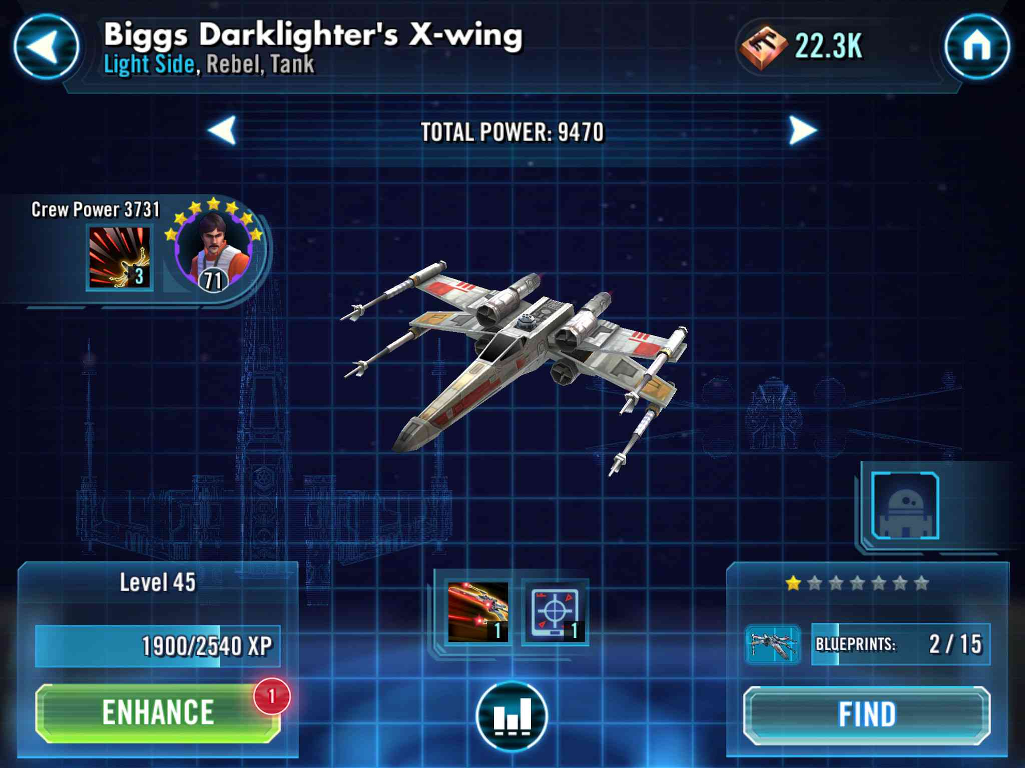 Star Wars Galaxy Of Heroes Ships Guide