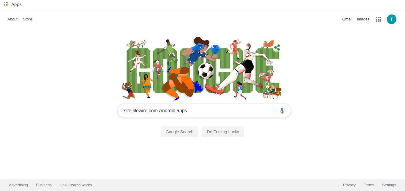 Google site specific search