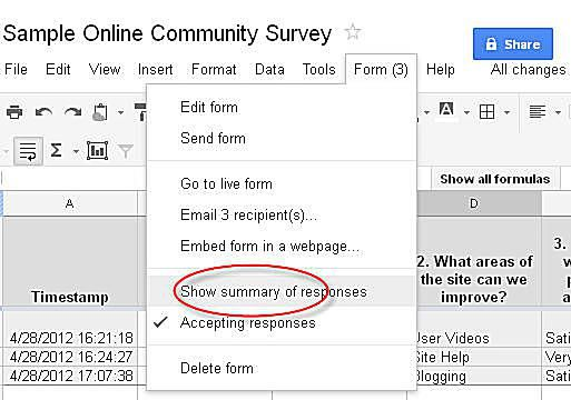 Steps To Design Community Survey Using Google Docs - Questionnaire template google docs