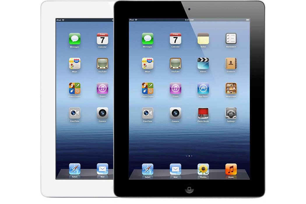 Ipad 3rd Generation In Both Black And White