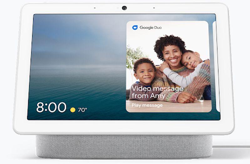 Google Home Hub/Nest Smart Display Duo Video Calling