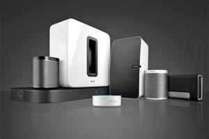 Sonos Family with Echo Dot