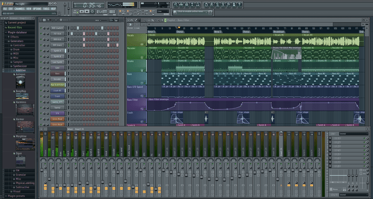 FL Studio Main Screen