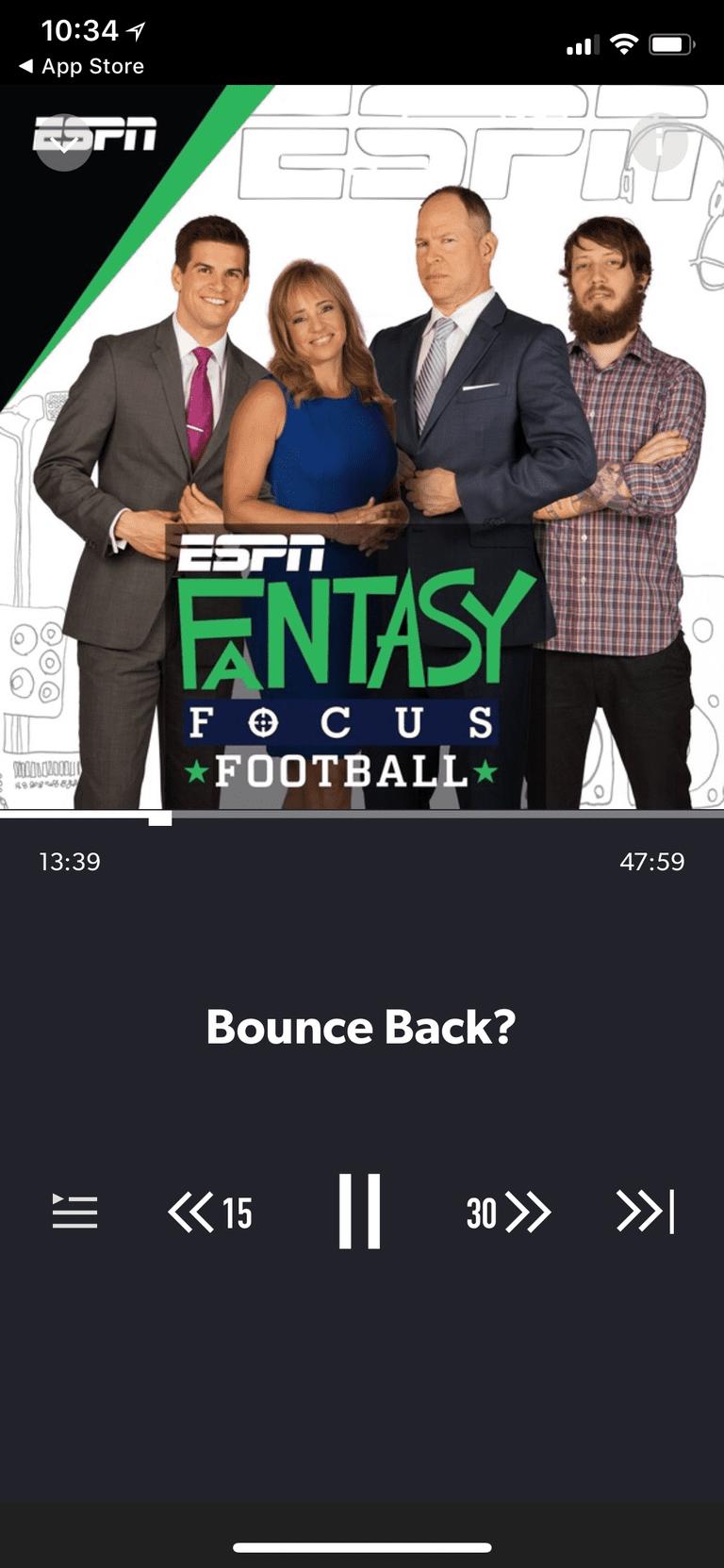 Fantasy Focus Football podcast
