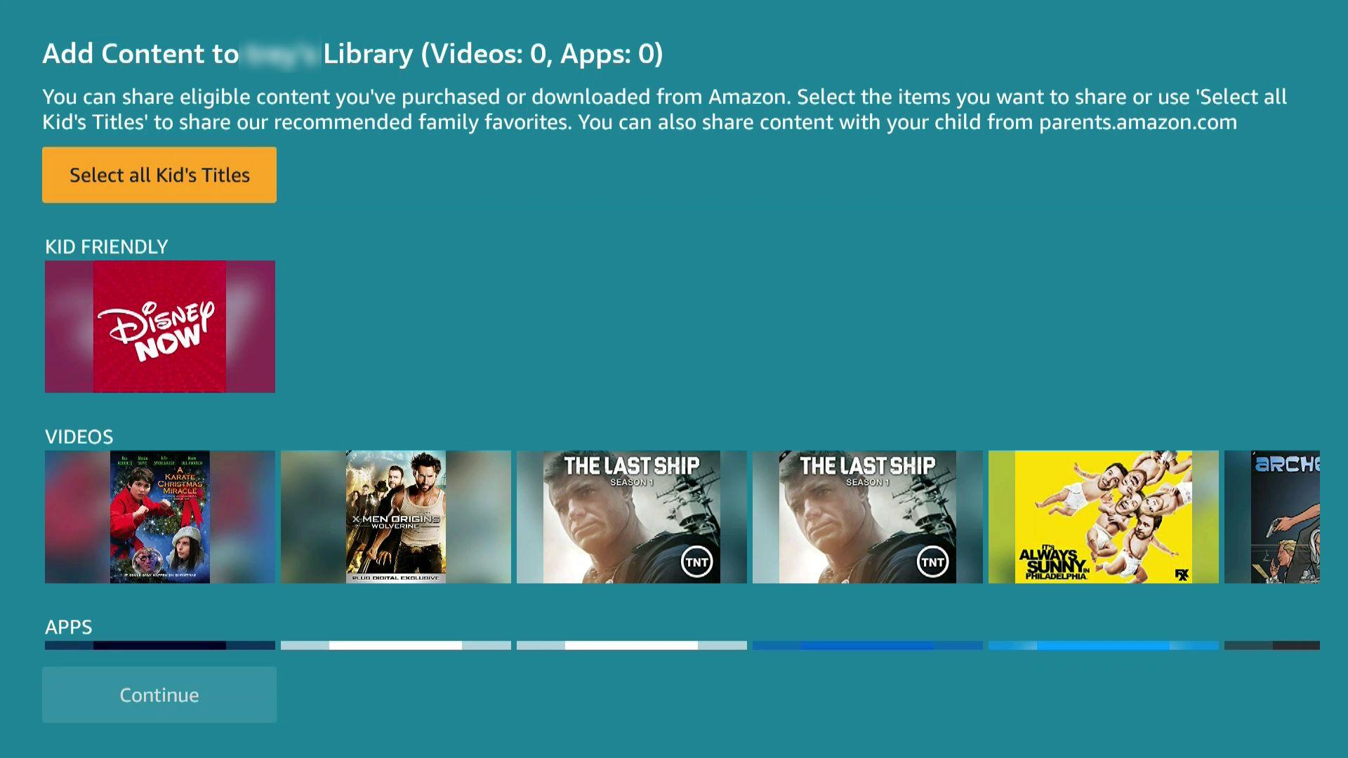 A screenshot of FreeTime content.