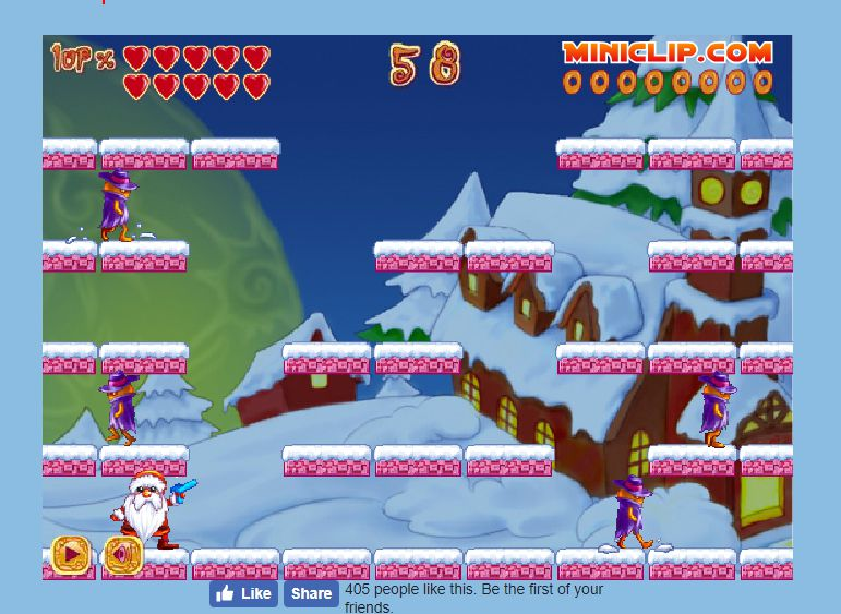 A screenshot of the game Deep Freeze