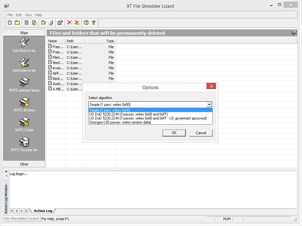 XT File Shredder Lizard