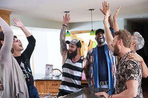 Karamo Brown, Ryan Dyer, Antoni Porowski, and Bobby Berk in 'Queer Eye' (2018)