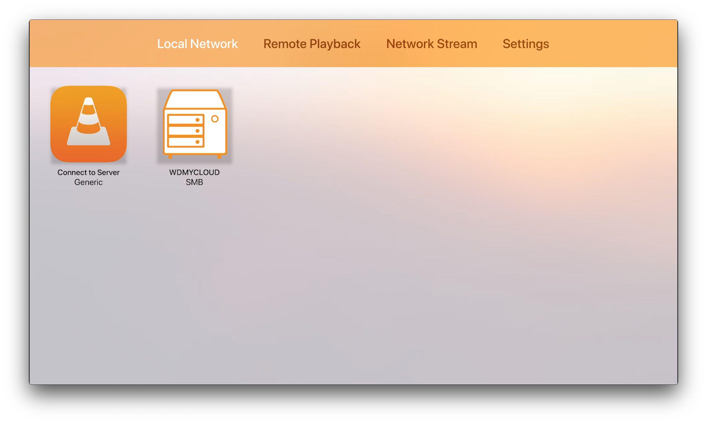 VLC app for Apple TV