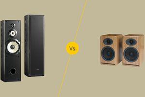 Floor-standing vs bookcase speakers