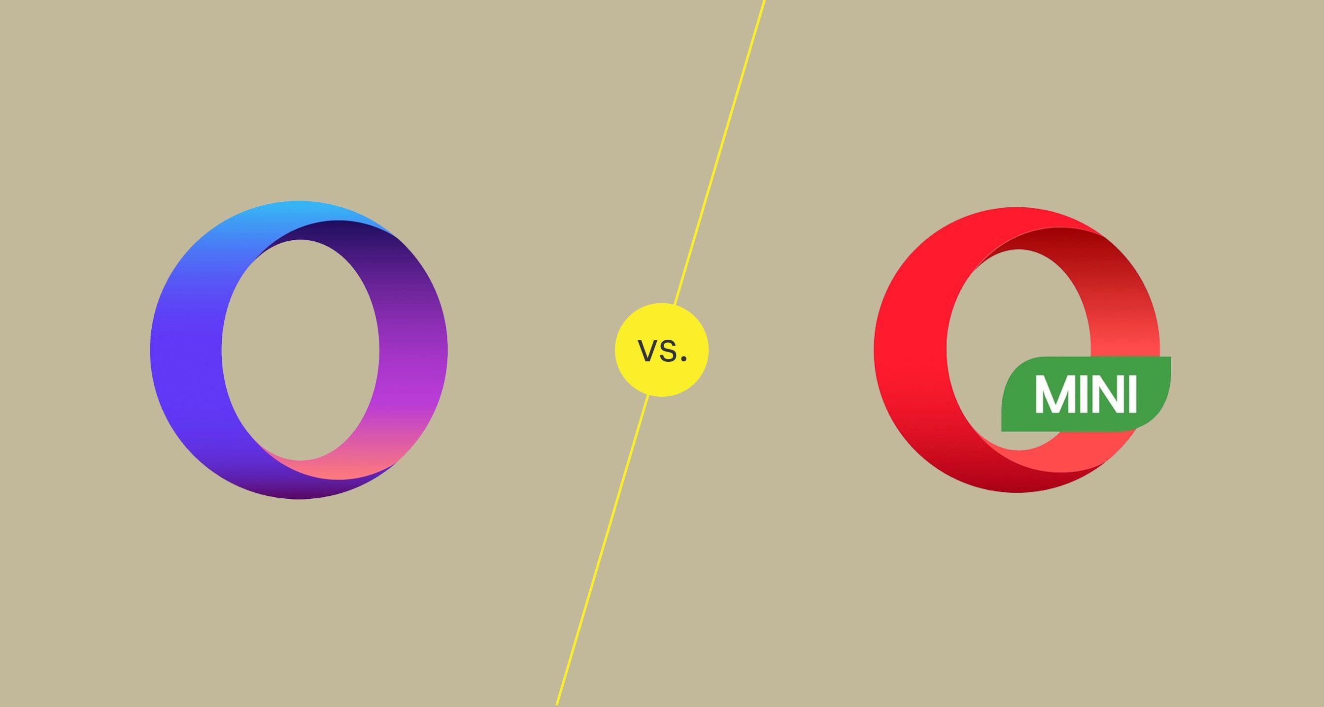 Opera Touch vs Opera Mini