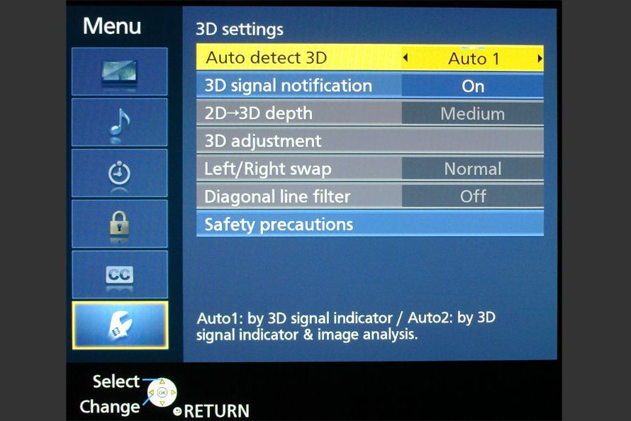 How to Adjust a 3D TV for Best Viewing Results