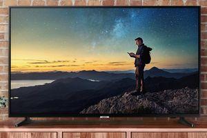 Samsung 4K UHD TV Lifestyle Image Example
