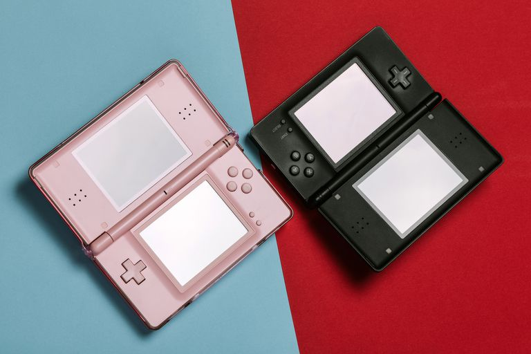 Two Nintendo DS systems