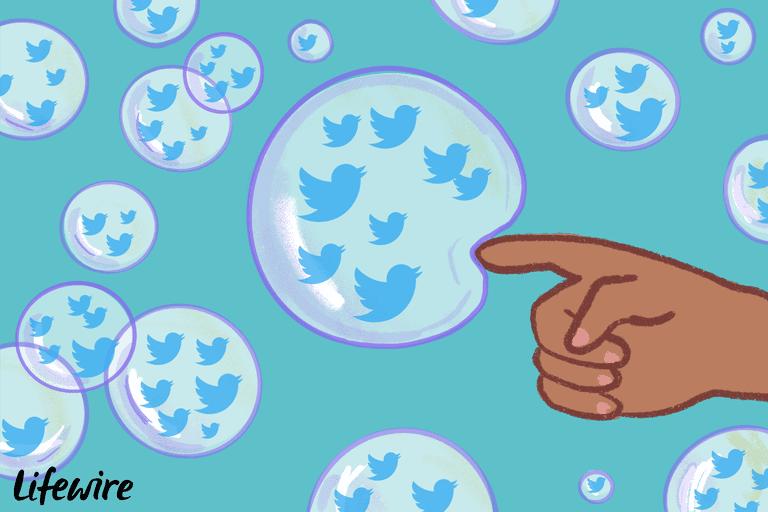 Twitter bubbles