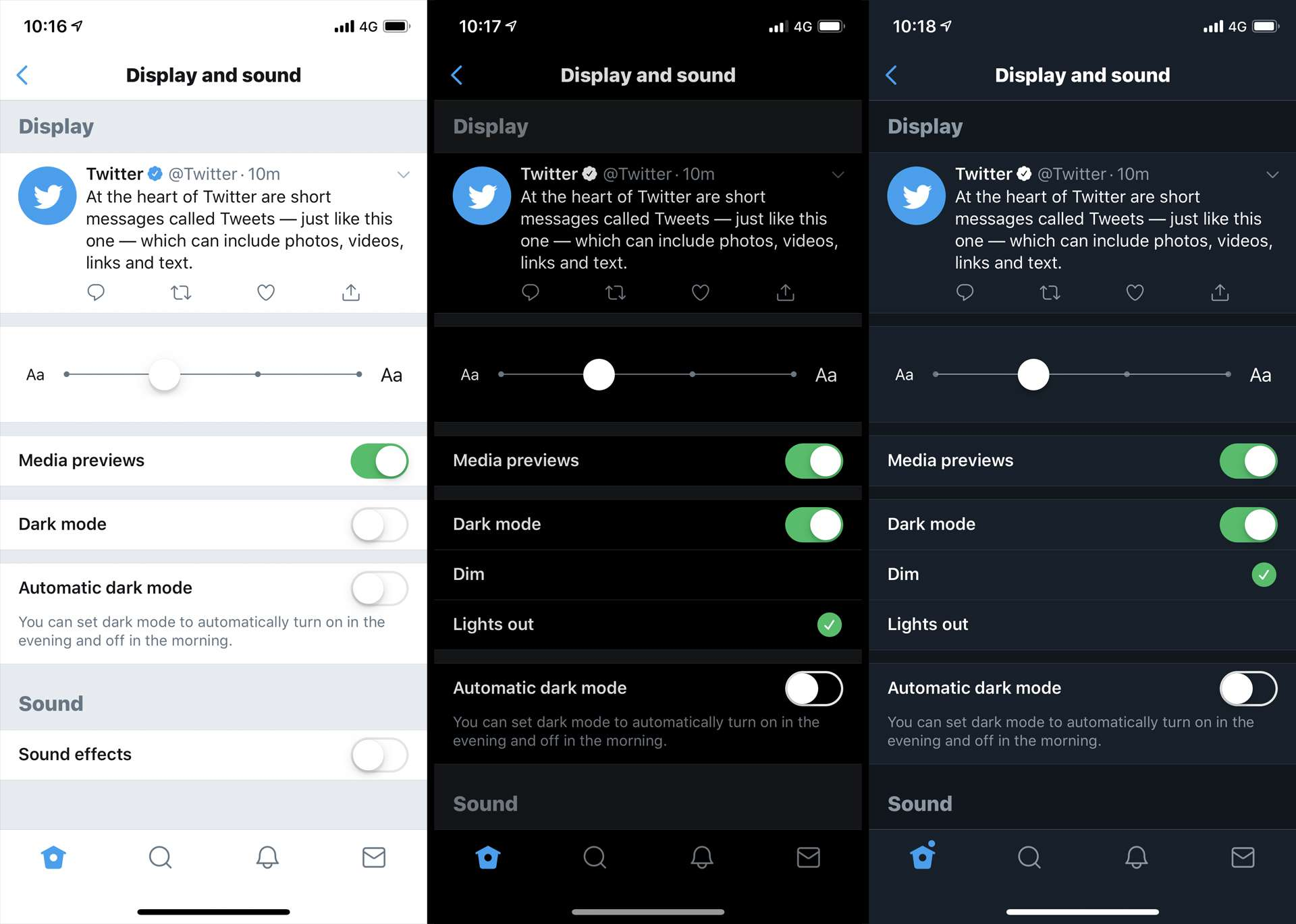 How to Use Twitter Night Mode