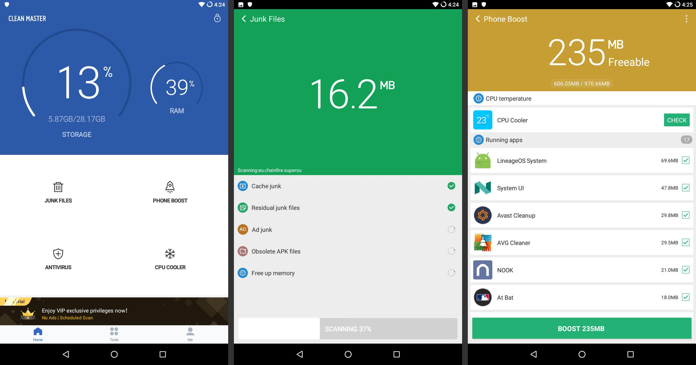 Android Booster Apps to Keep Your Phone Running Smoothly
