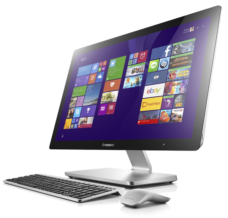 Lenovo A740 27-inch Touchscreen All-In-One PC