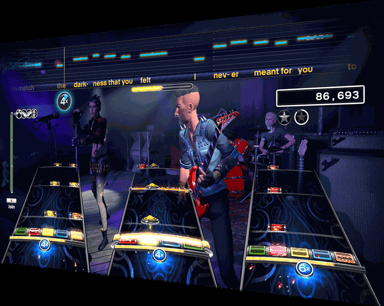 Rockband 4 screenshot