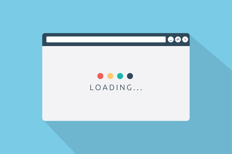Loading text in a browser