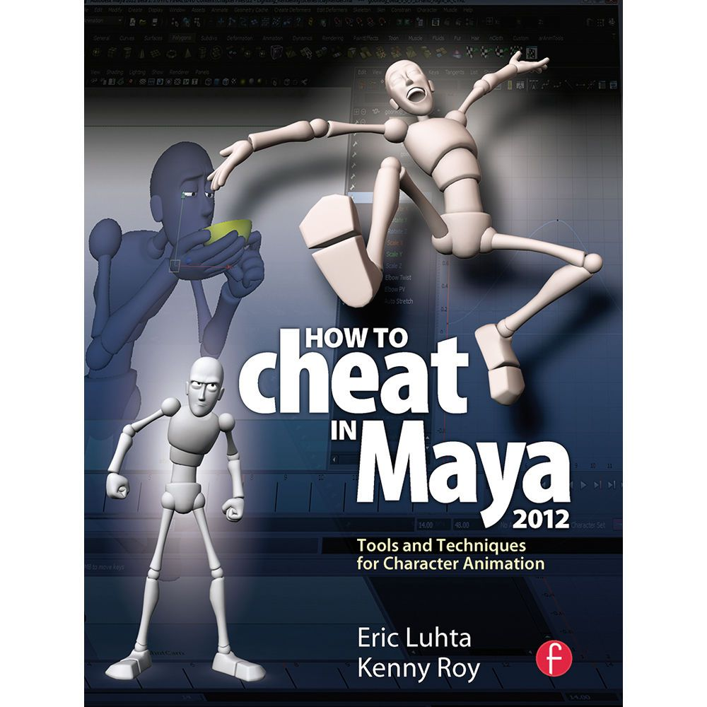 The cover art for How to Cheat in Maya