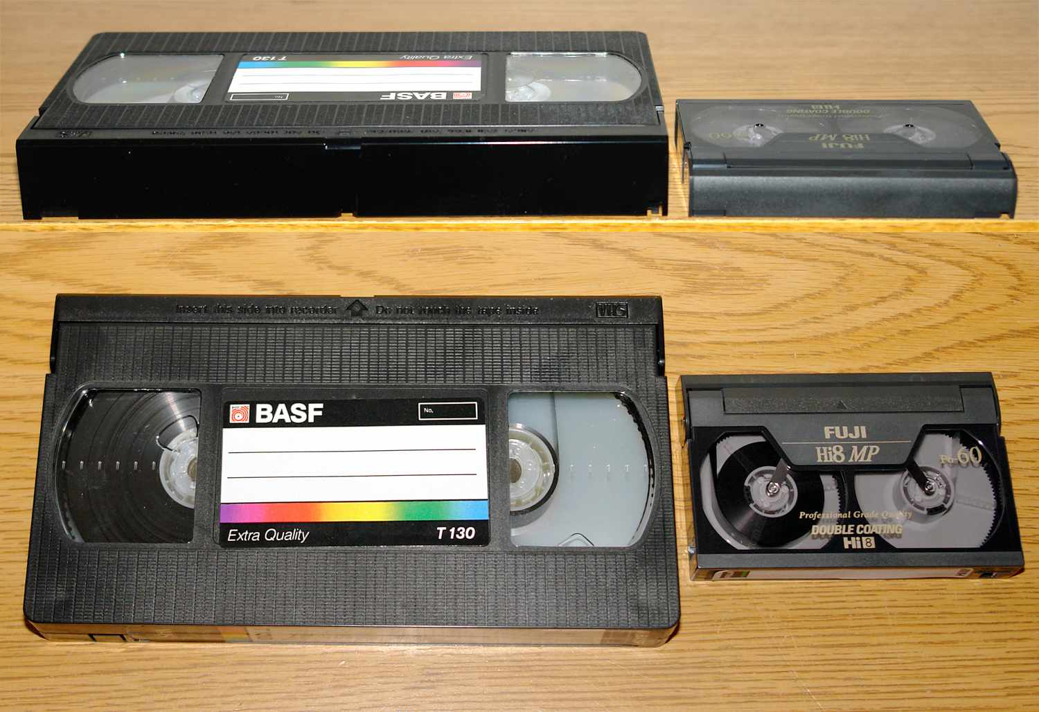 Is There a VHS Adapter for 8mm Tapes?