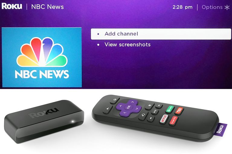 ROKU - Add Channels and Roku Express