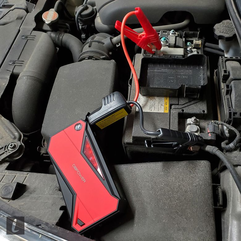 600A Peak 18000mAh Portable Car Jump Starter