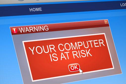 Computer virus warning