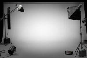 TV, film, photographic studio