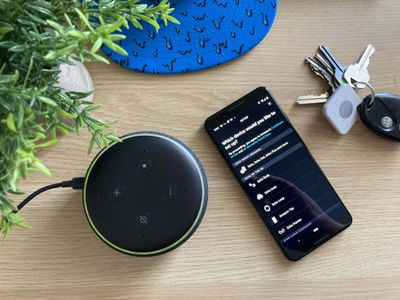 Registering an Echo Dot with the Alexa app.