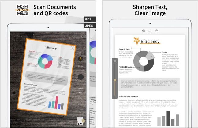 Doc Scan iPad scanning app