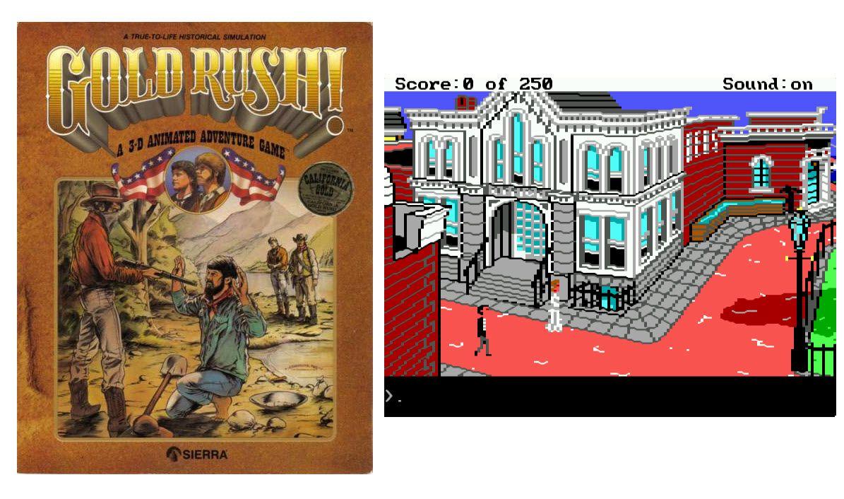 Gold Rush! Box Art & Screenshot