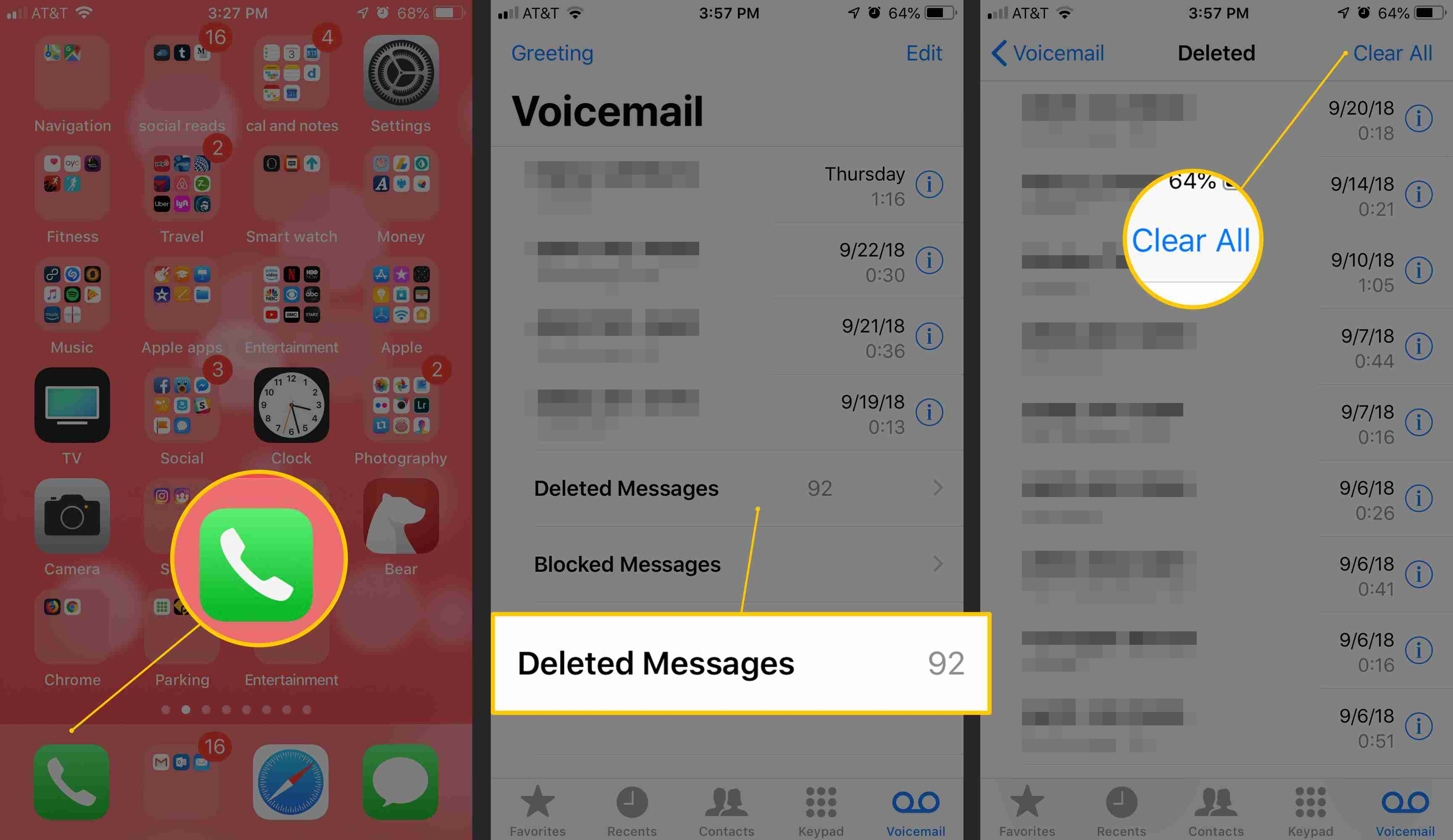 How To Delete Voicemail On Iphone