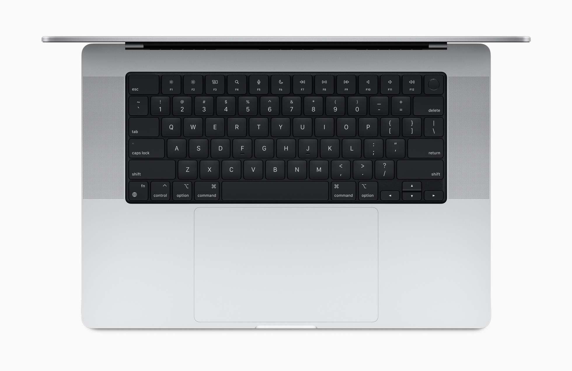 2021 MacBook Pro keyboard