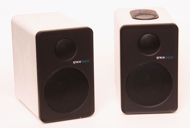 Grace Digital GDI BTSP201 Bluetooth Stereo Speakers