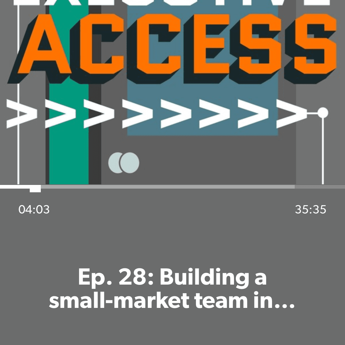 Executive Access podcast