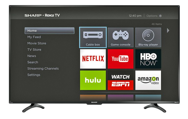 Sharp Roku TV Example
