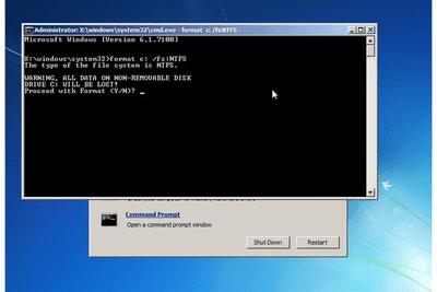 windows 7 repair cd not compatible