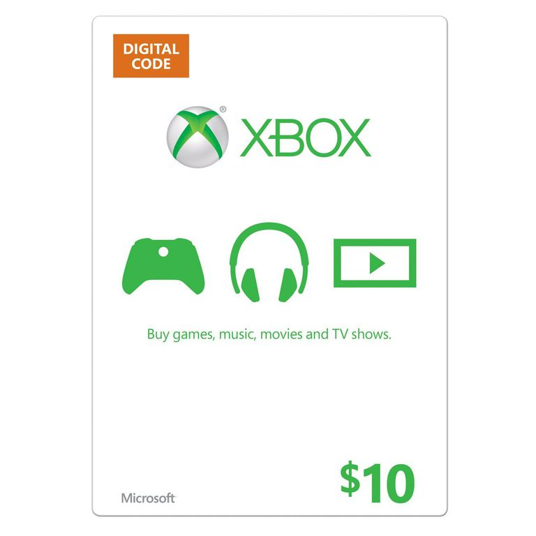 Xbox Gift Card