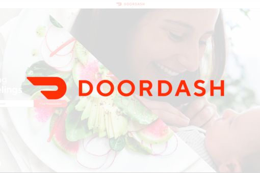 Doordash logo.